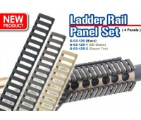 G&G Ladder Rail Panel Set (Black)