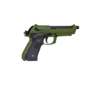 GPM92 M9 Gas Blow Back Pistol - Green