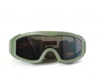 Taktikal Airsoft Goggle - Olive Drab