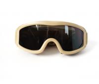 Taktikal Airsoft Goggle - Desert Tan